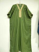 Islamic Mens Maxi Dress Muslim Arab Kaftan Jalabiya