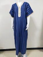 Moroccan Men Dress Caftan Short Sleeve