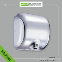 High Speed Automatic Hand Dryer with Infrared Sensor and Quiet Motor