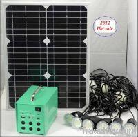 20W Solar portable home system