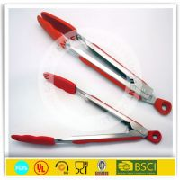12' silicone food tongs,kitchen tongs