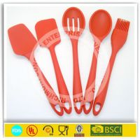 2014 new products shower silicone spatula, baking utensils