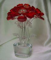 Crystal Flower Gift Set