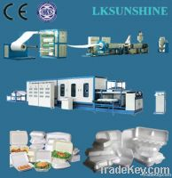 PS foam food box/container making machine