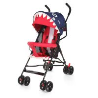 CoBaby 2 In 1 Buggy Style Pram, Can Sit & Lie Baby Carriages Baby Buggys, Reclining Stroller