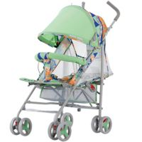 CoBaby Front Shock Absorption Pushchair, Foldable Pram For Baby To Sit And Lie, 2 in 1 Baby Stroller