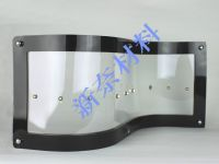 Flexible transparent conductive film for touch panel, flexible display