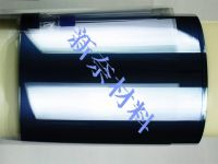 Antistatic films for electronic packaging, spacer tape