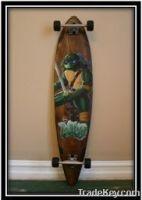 Ninja Turtle Classic Longboard & Skateboard