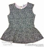 animal print lady's vest