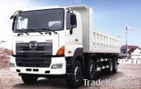 hino 6x4, 8x4 dump truck