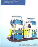 vacuum type oil hydraulic molding machine