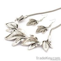 Jewelry Set Leaf