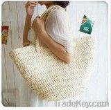 Hand Woven Straw/Corn Husk Handbag/Tote Bag