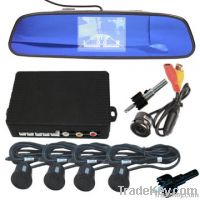rear view parking sensor system with reverse camera