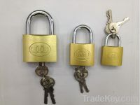 Medium Type Brass padlock
