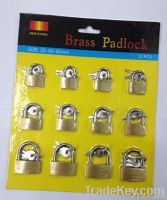 Medium Type Brass padlock