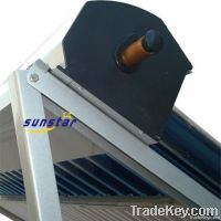 Heat pipe solar collector for split pressurized system