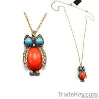 cute owl necklace nice gift