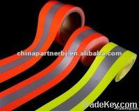 Flame retardant reflective tape