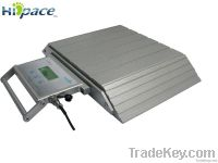 Portable axle scales of