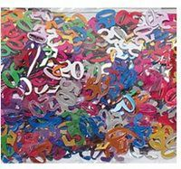 Metallic PVC/PET numerial/ number birthday confetti Multi-color available