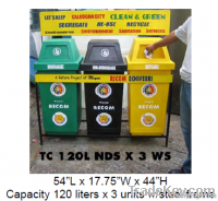 Plastic Bins/ Waste Segregation Bins