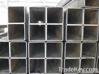 Hot rolled square steel pipes