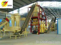 vertical ring die wood pelllet mill machine