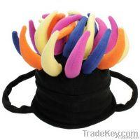 Hot Funky Fleece cap for Halloween'd day