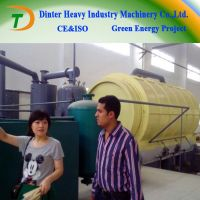 High quality DTA Waste Tires To Oil Recycling Machinery