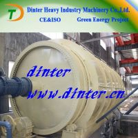 Long life DTA waste plastic oil extraction plant