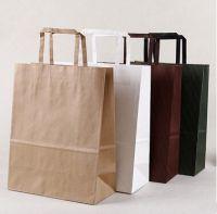 customized logo printing craft paper bags
