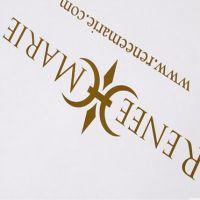 customized logo printing paper advertising bags hot stamping