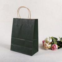 customized logo printing paper shopping bags