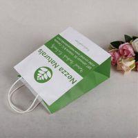 customized logo printing paper advertising bags