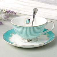 High quality bone china ceramic coffee cups &saucers