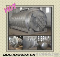 2012 Newest Design waste tire recycle plant with high oiled