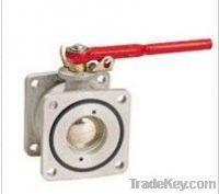 Ball Valve with Round Flange (Gas- station Parts)