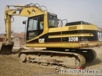 caterpillar 320B excavator