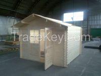 Summer Garden House Office Wooden Log Cabin Production