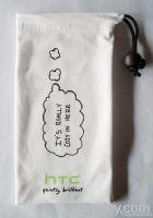 Smartphone microfiber pouch