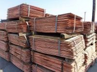 Copper Cathode Best grade AA 99.99%