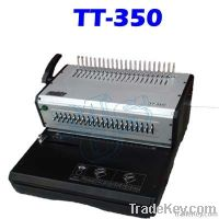 Eleactric Comb Binding Machine
