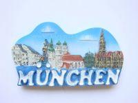Resin souvenir 3d fridge magnet