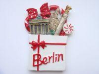Resin souvenir 3d fridge magnet -Berlin Cathedral, Germany