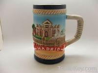 Ceramic Souvenir Ashtray/cup/plaque