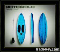 2012 TOP Sale Rotational Durable&Plastic kayak;rotational canoe;rotomo