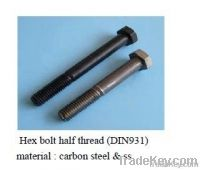 HEX BOLT, ALLEN BOLT , CARRIAGE BOLT AND THREADED ROD