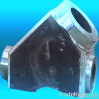 WB36 large forging steel valve body for Thermal plant